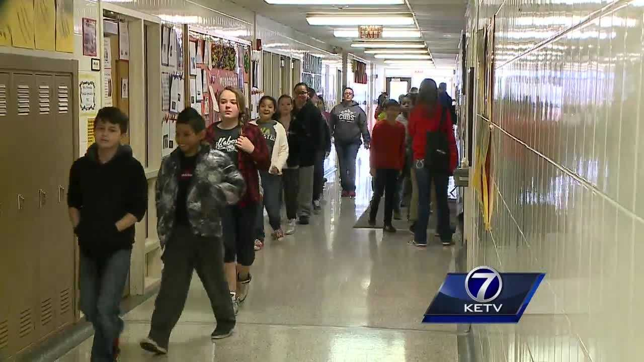 Schools took part in  state-wide drill of emergency warning sirens and systems Thursday.