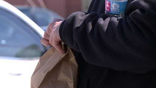 A Bellevue woman is on a mission to make sure the homeless in her community know they have her support.