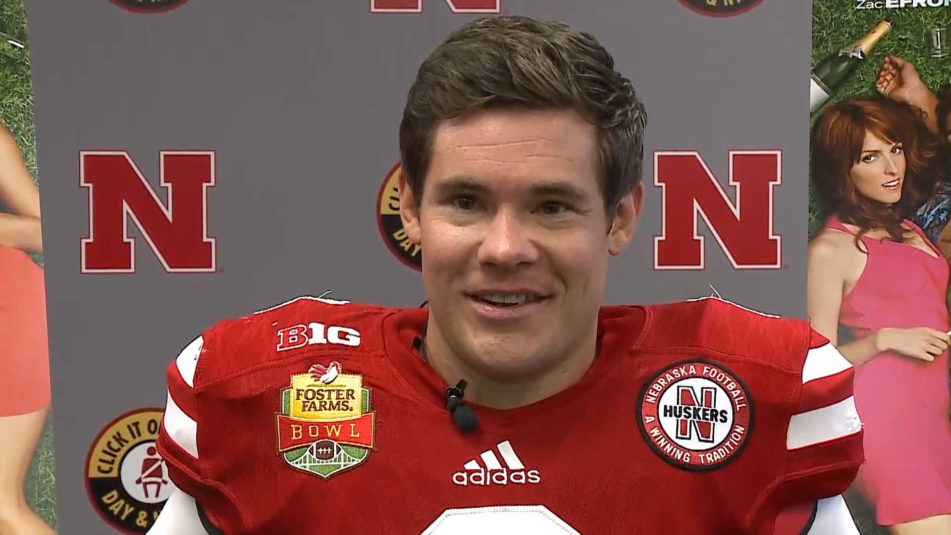 "Adam Devine, an Omaha native, made a stop at the University of Nebraska-Lincoln to promote his new movie, ""Mike and Dave Need Wedding Dates,"" on Friday."