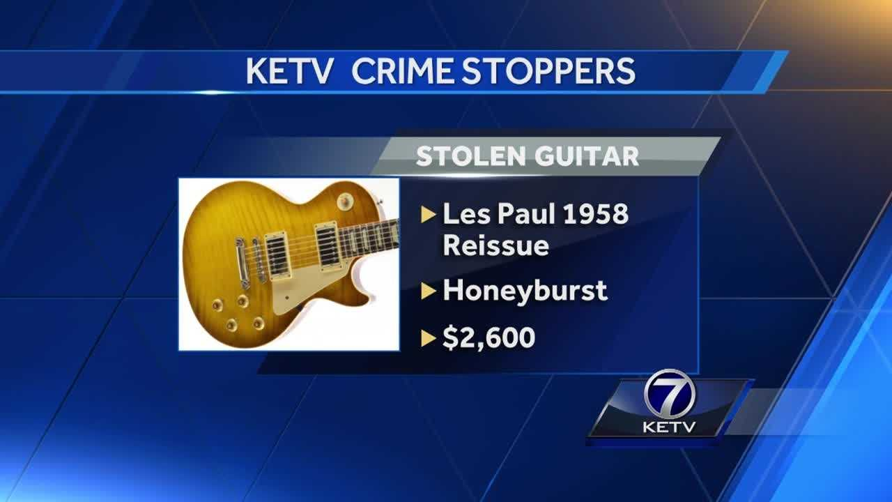 Omaha police are searching for a thief who brazenly took an expensive instrument.