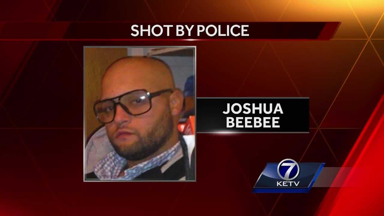 The Omaha Police Department identified the man as 31-year-old Joshua Beebee