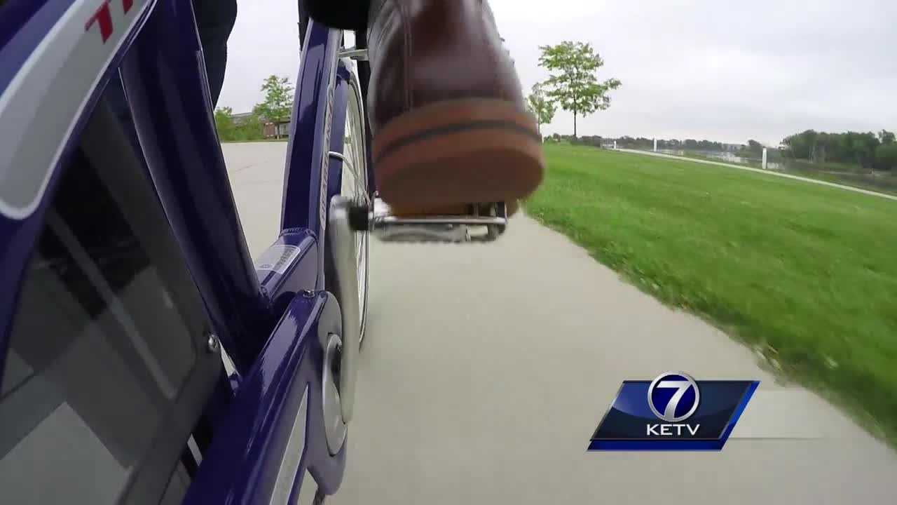 KETV Alex Alecci checks out some options for two-wheeled transportation.