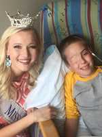Alyssa has devoted her year as Miss Nebraska to the patients at Children's Hospital and Medical Center, and to children at Children's Miracle Network hospitals around the country.