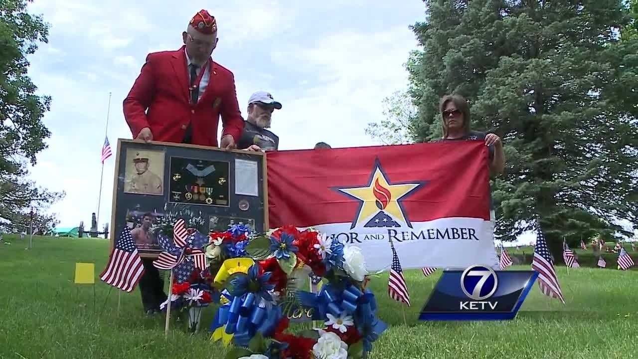 A local park named after an Omaha Marine has had several improvements over the past three years, and now there are plans to do more.