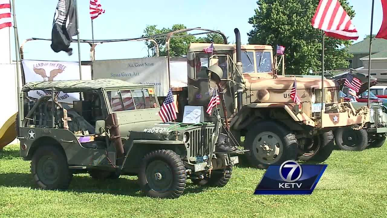 Omaha's Heroes of the Heartland Foundation held a somber memorial Monday to remember the fallen, but spent Sunday celebrating all veterans in the metro area.