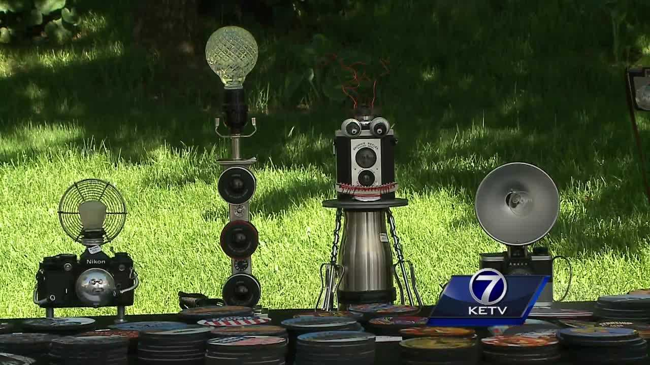 One of Omaha's oldest art fairs wrapped up this weekend after offering visitors one-of-a-kind, handmade pieces.