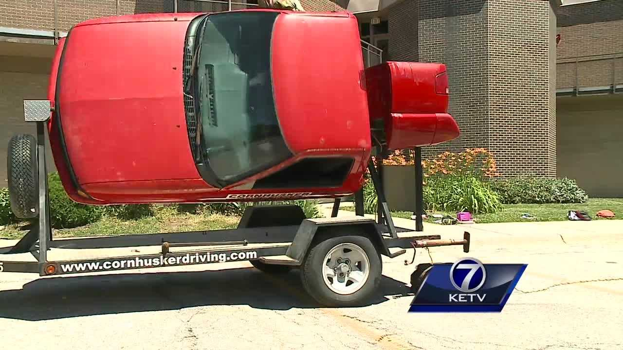 "A video of teens ""car surfing"" in west Omaha recently went viral. At least one driving school is using it as a lesson."