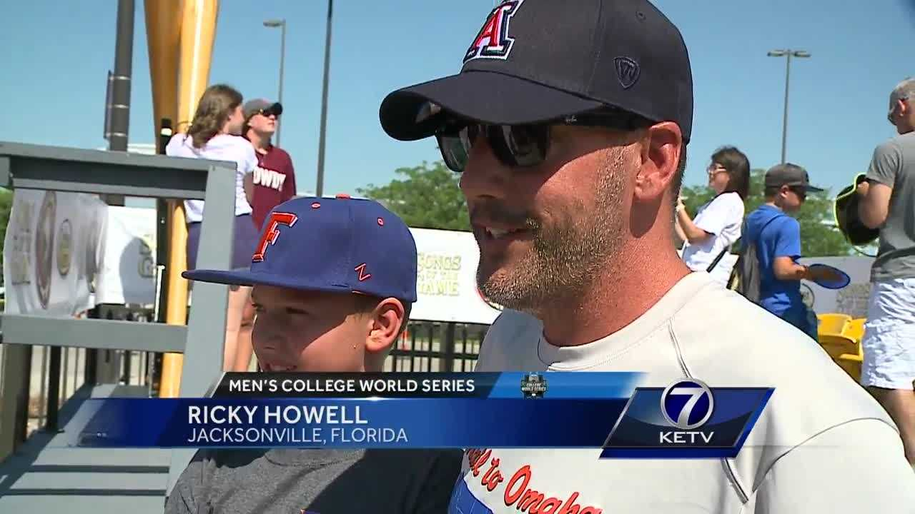 The first weekend of the College World Series is always the busiest. Between record crowds and record heat, the new security protocol at Baseball Village is being put to the test.