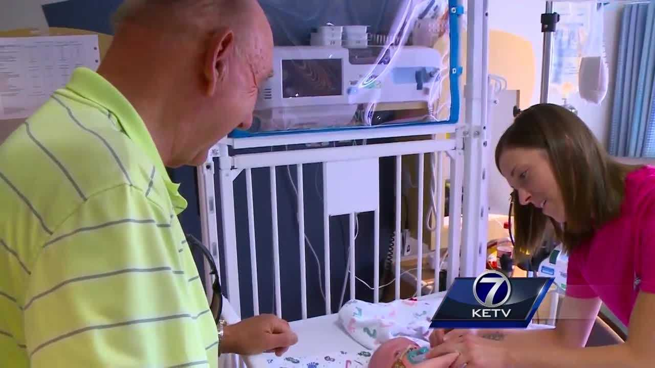 Basketball icon and ESPN broadcaster Dick Vitale spent Tuesday in Des Moines, hoping to brighten the days of children at Blank Children's Hospital.