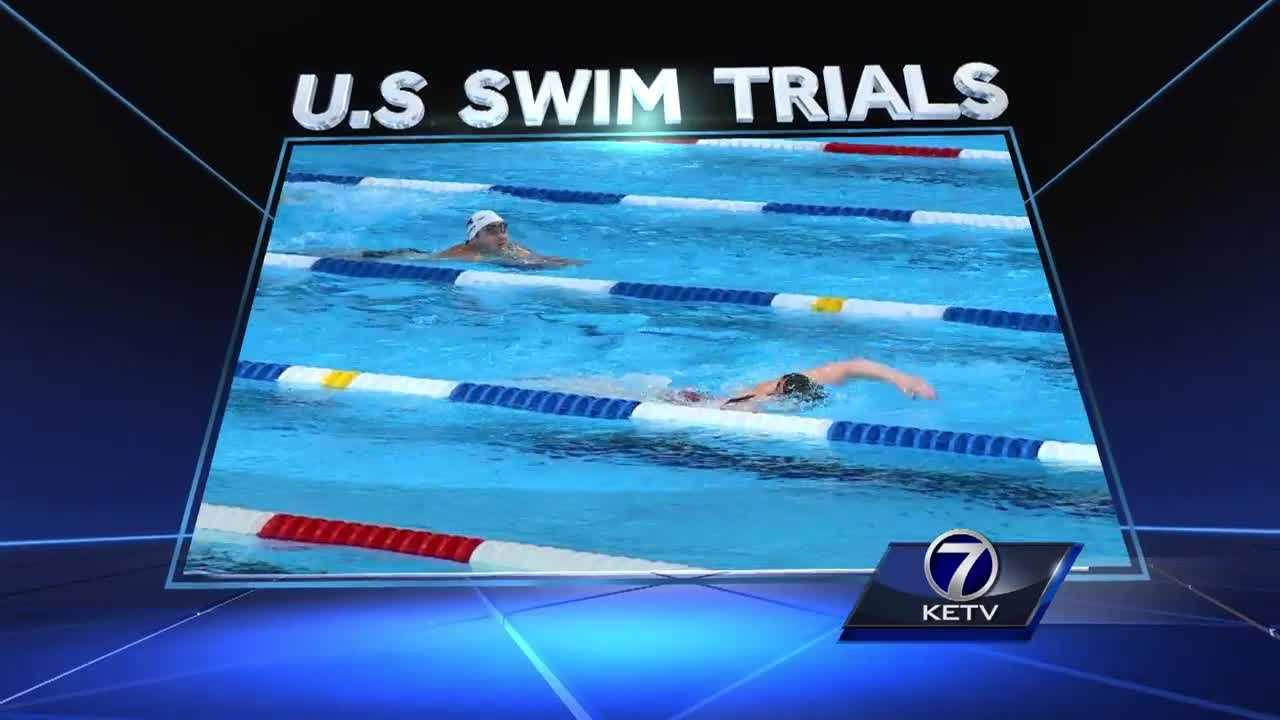 Weeks away from the start of the 2016 Rio Olympics, swimmers who want to win there first have to qualify in Omaha.