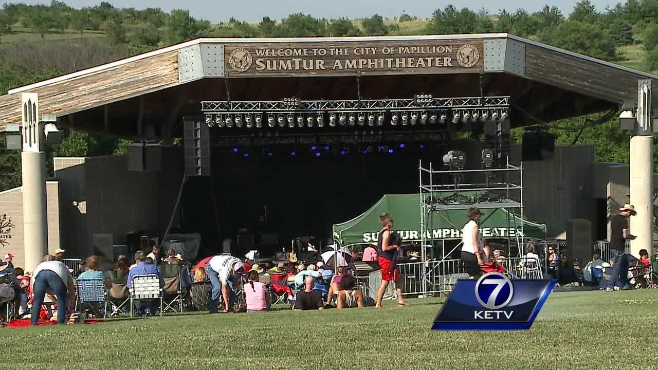 The Sumtur Amphitheater was a hot spot this weekend as Papillion welcomed Willie Nelson to town.