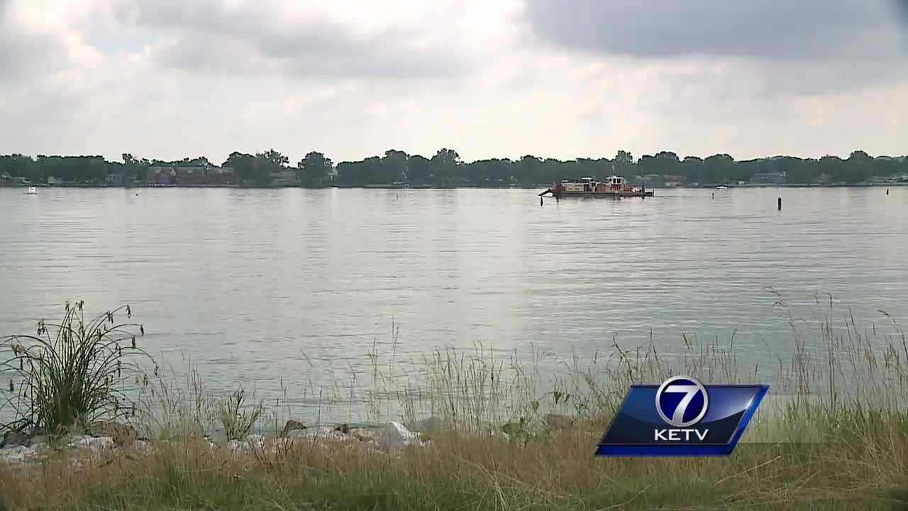 Extensive work is being done in Council Bluffs as crews spread out across one of the area's largest bodies of water.