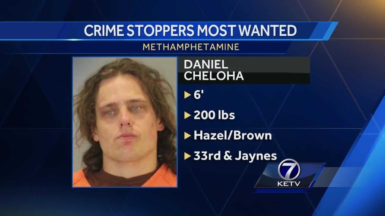 Omaha police said they are searching for a man they say had been caught with hundreds of grams of methamphetamine, some of which he apparently used.