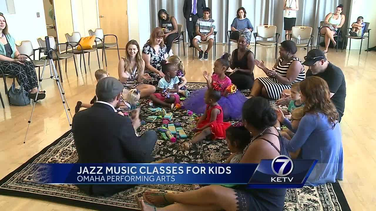 A program that teaches toddlers through music and movement, focusing on jazz, is making its way to Omaha.