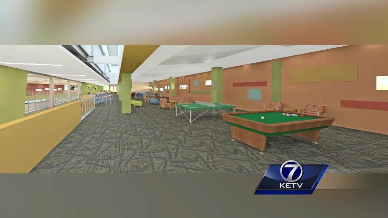 A south Omaha community center is set to expand.
