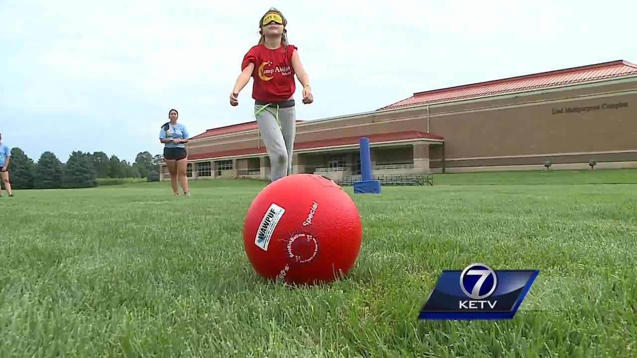 Camp Abilities is a week-long overnight camp for visually-impaired kids ages 9 to 19.