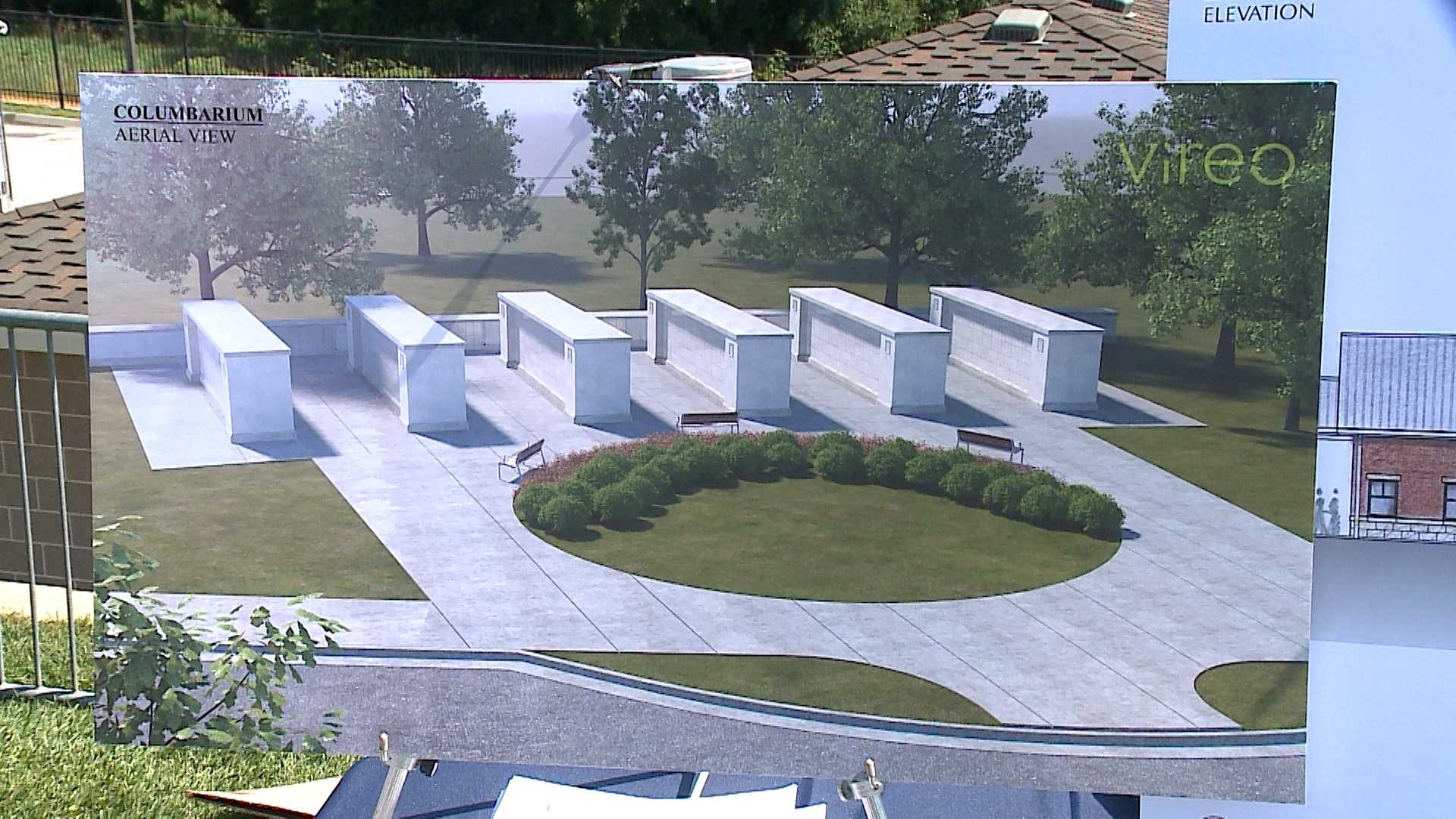 The new Omaha National Cemetery was dedicated Friday morning.