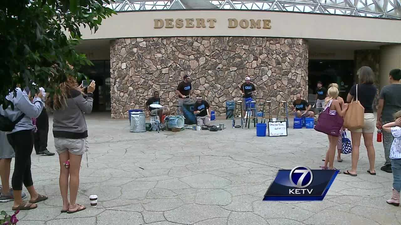 Omaha's Henry Doorly Zoo and Aquarium held one final hoorah this weekend before kids head back to the classroom.