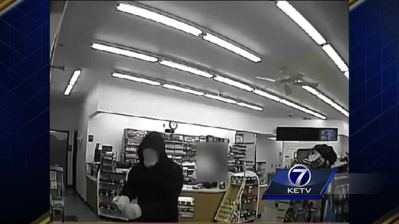 Omaha police are searching for the person who robbed the Kum & Go at 155th and Pacific last month.