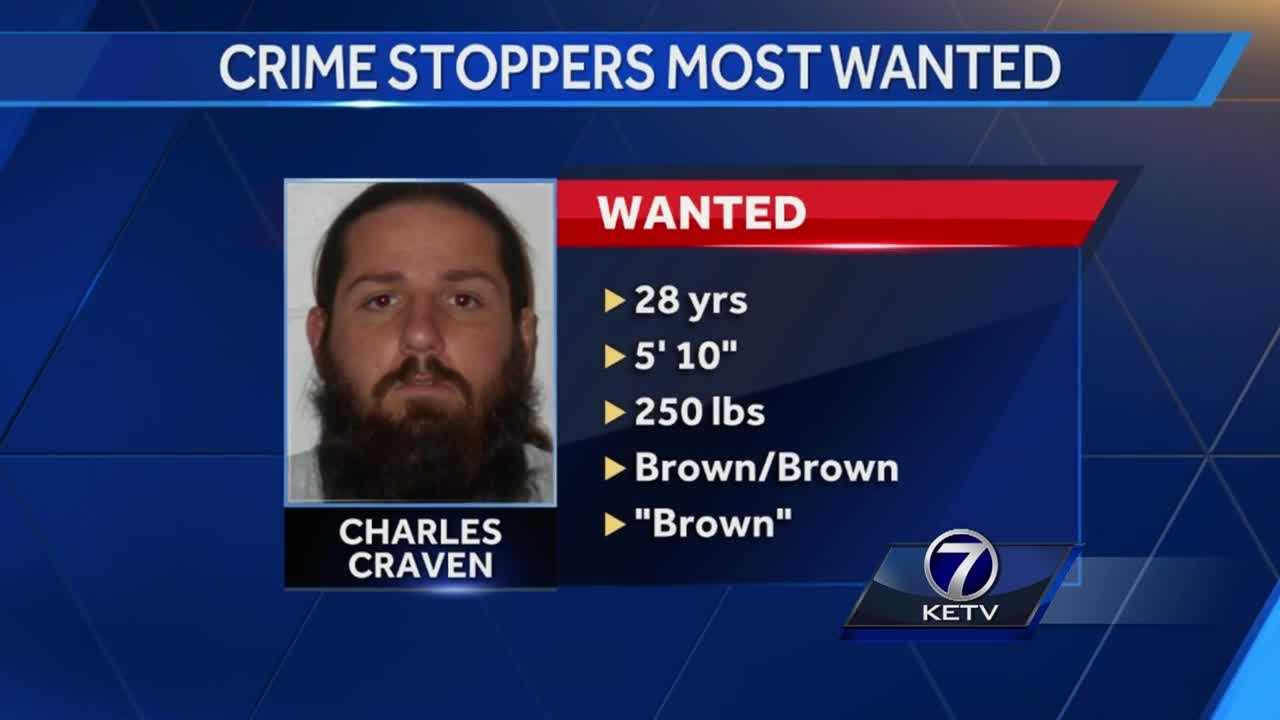 Omaha police are still searching for Charles Craven, 28, who escaped from prison two months before his parole date.