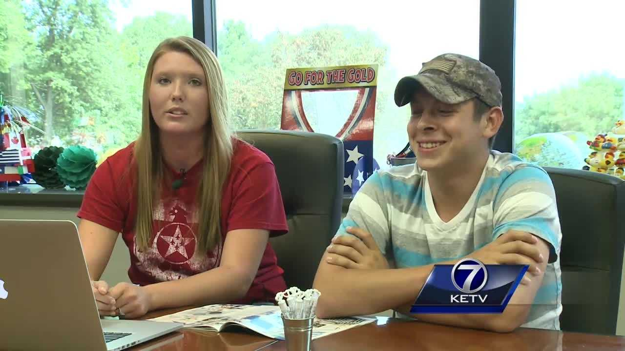 A metro company is giving an Omaha couple hope after a devastating fire.