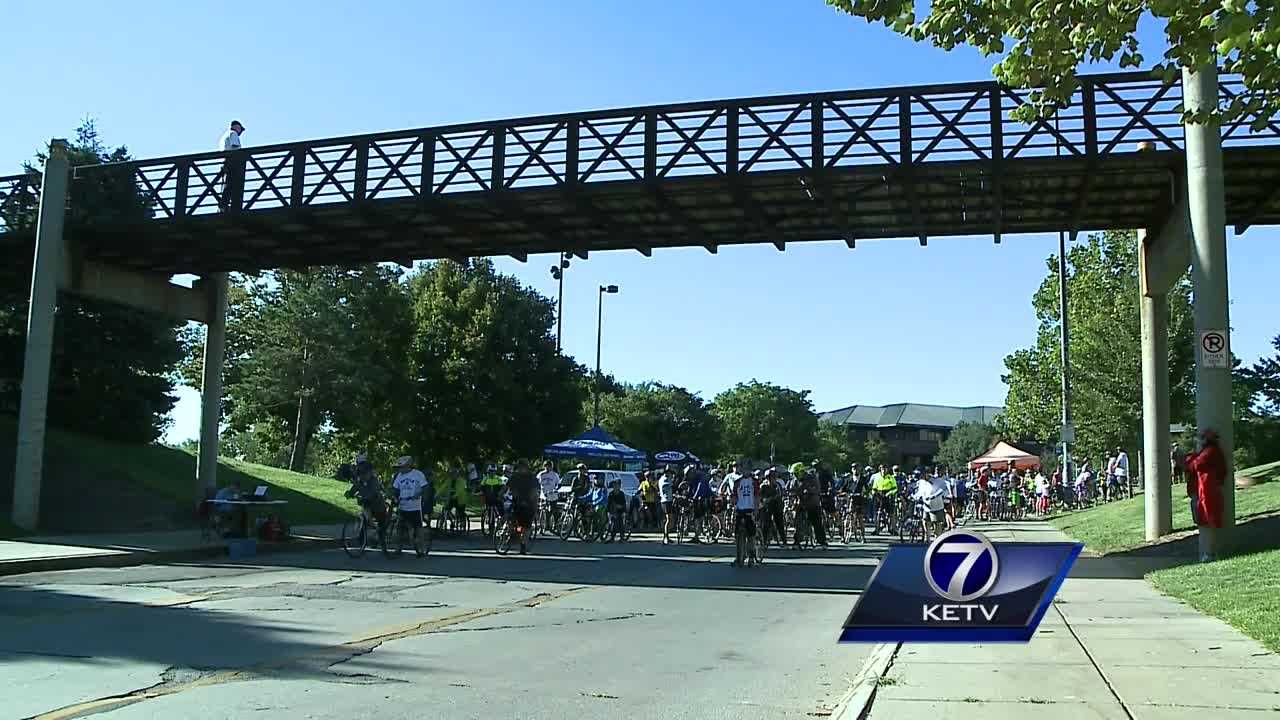 Thousands of riders took to two wheels for the 26th annual Corporate Cycling Challenge Sunday morning. The event was held to raise money to get more people excited about the outdoors.