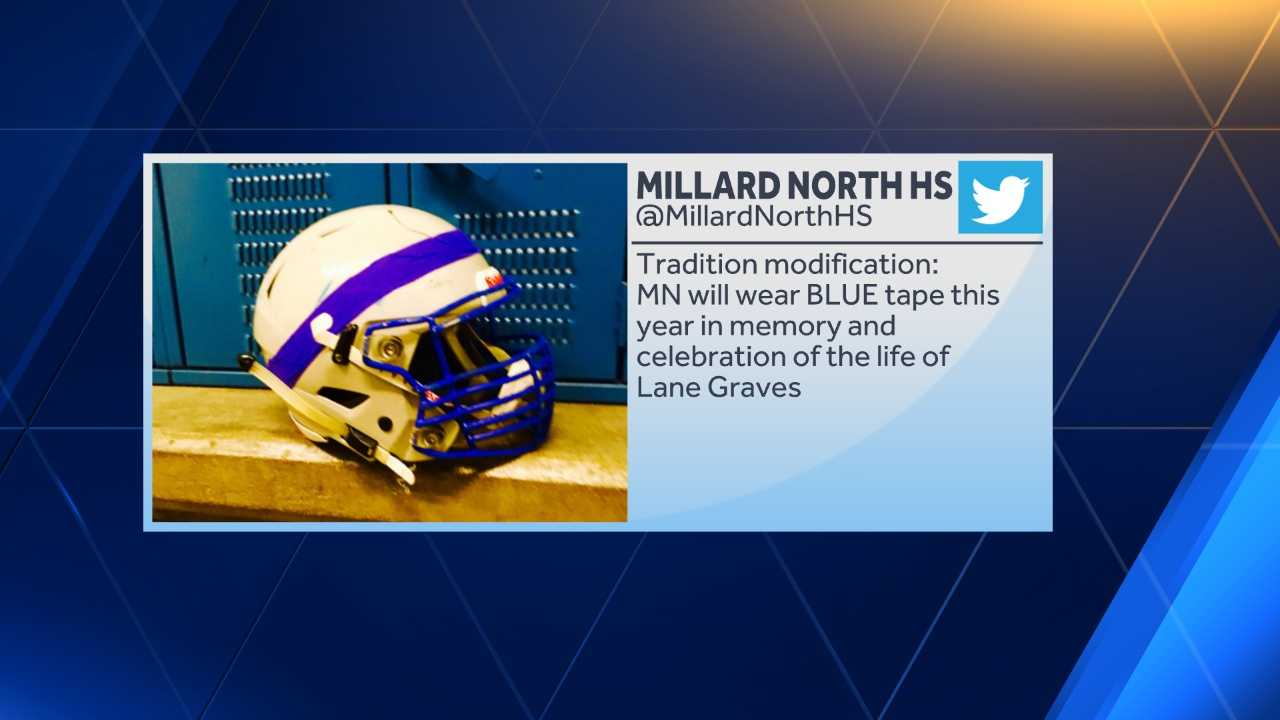 Photo courtesy of @MillardNorthHS