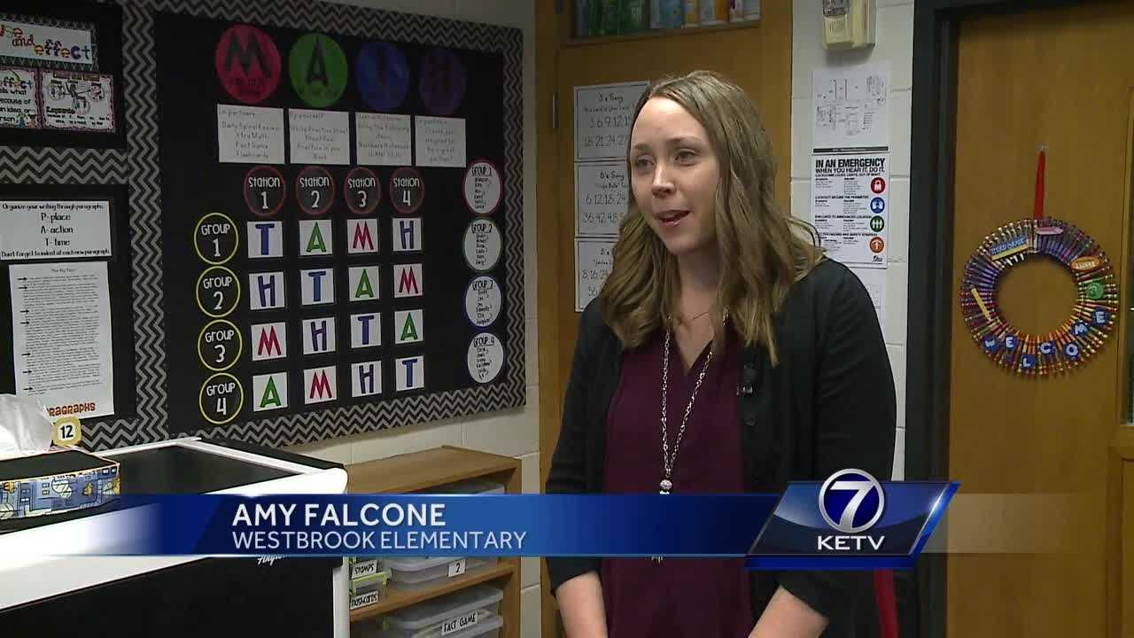 An Omaha teacher won a presidential award, meaning she'll travel to Washington, D.C., to receive it and the $10,000 it includes.