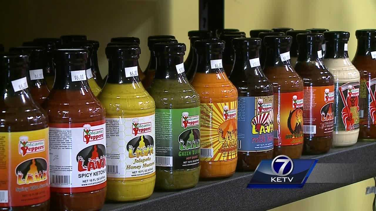 Business is booming at Volcanic Peppers, a Bellevue business -- so much so, in fact, that it's getting the attention of local and national politicians.