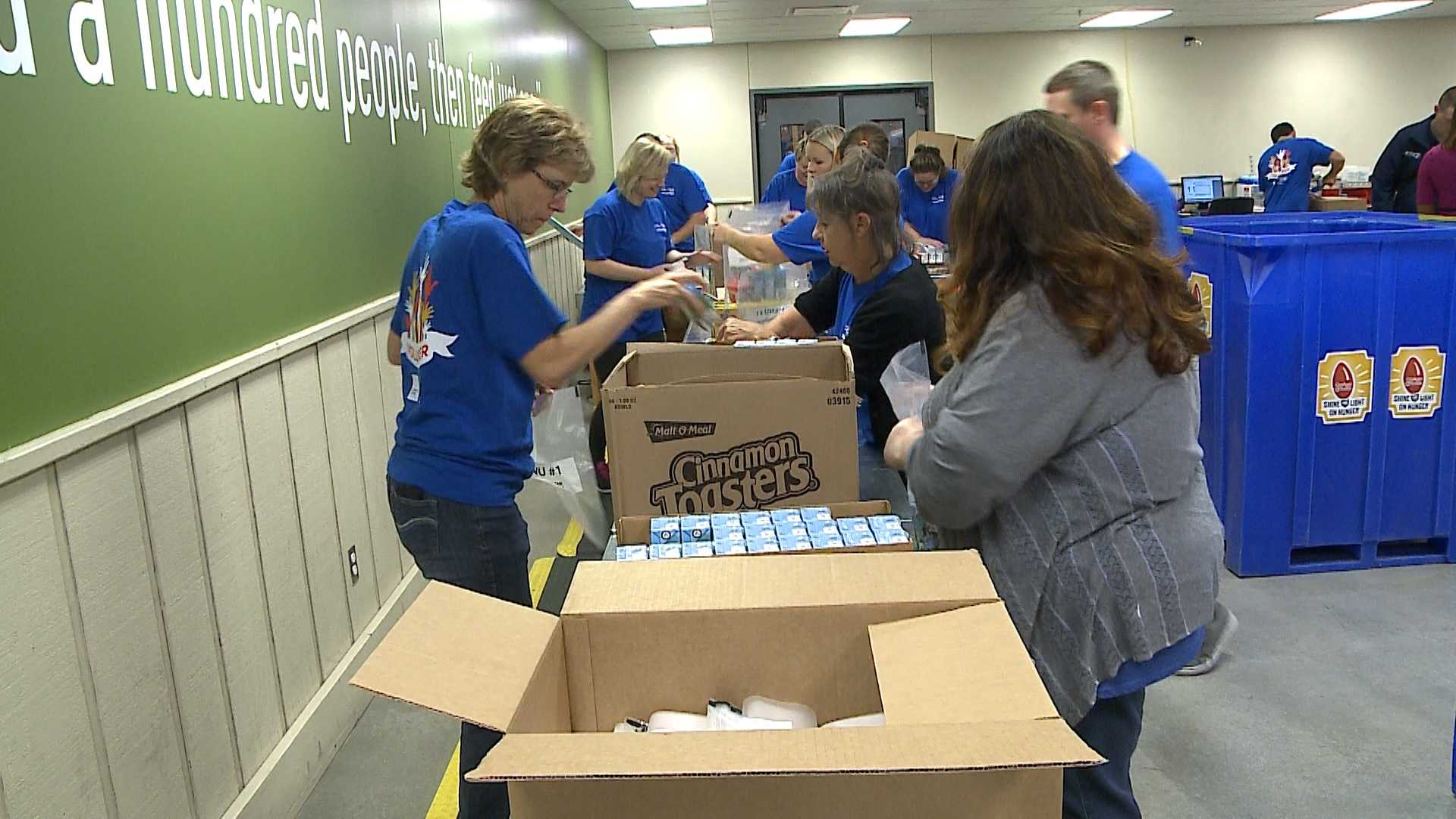 More than 800 volunteers showed their support for Day of Caring 2016 at the United Way of the Midlands.