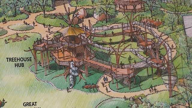 Childrens Adventure Trail takes shape at Omaha zoo