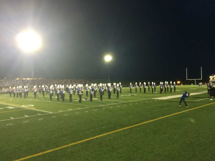 Papillion-La Vista South band putting on a great show!