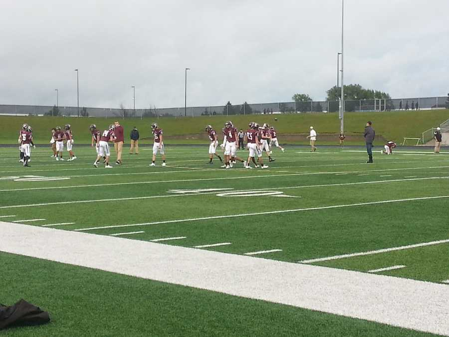 Papillion takes the field.