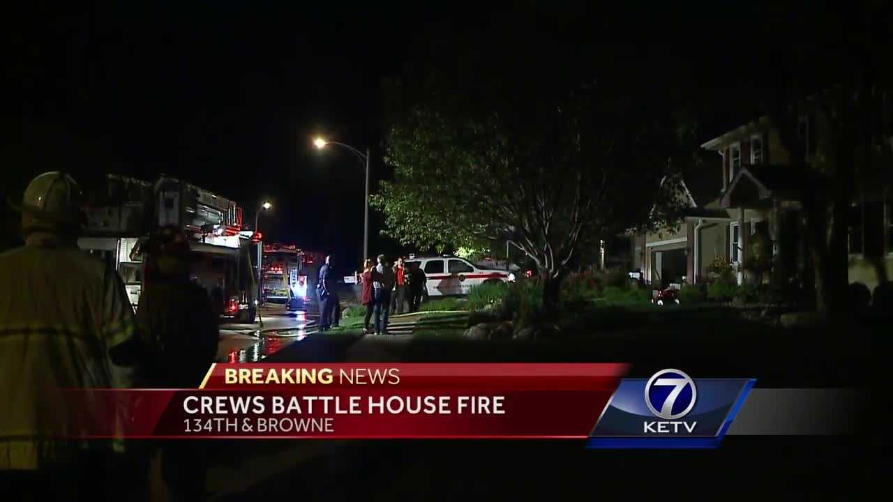 Alexandra Stone has the latest on a Friday night house fire.