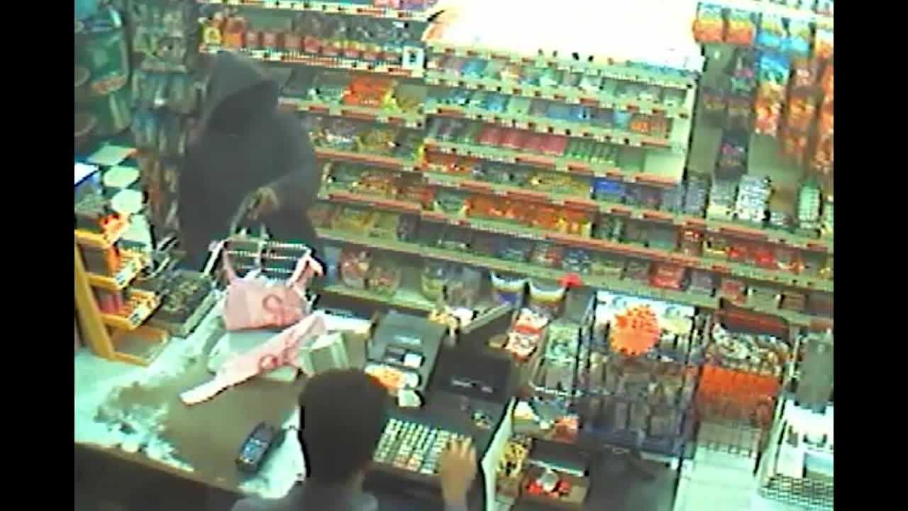 Video - Robbery at JNJ Grocery