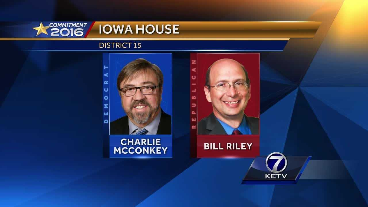 We talk to Democratic incumbent Charlie McConkey and challenger Bill Riley.