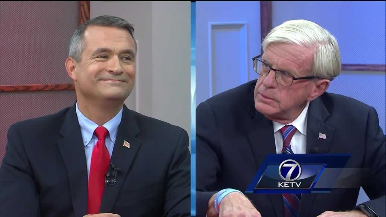 NE2 candidates face of for first time on debate stage