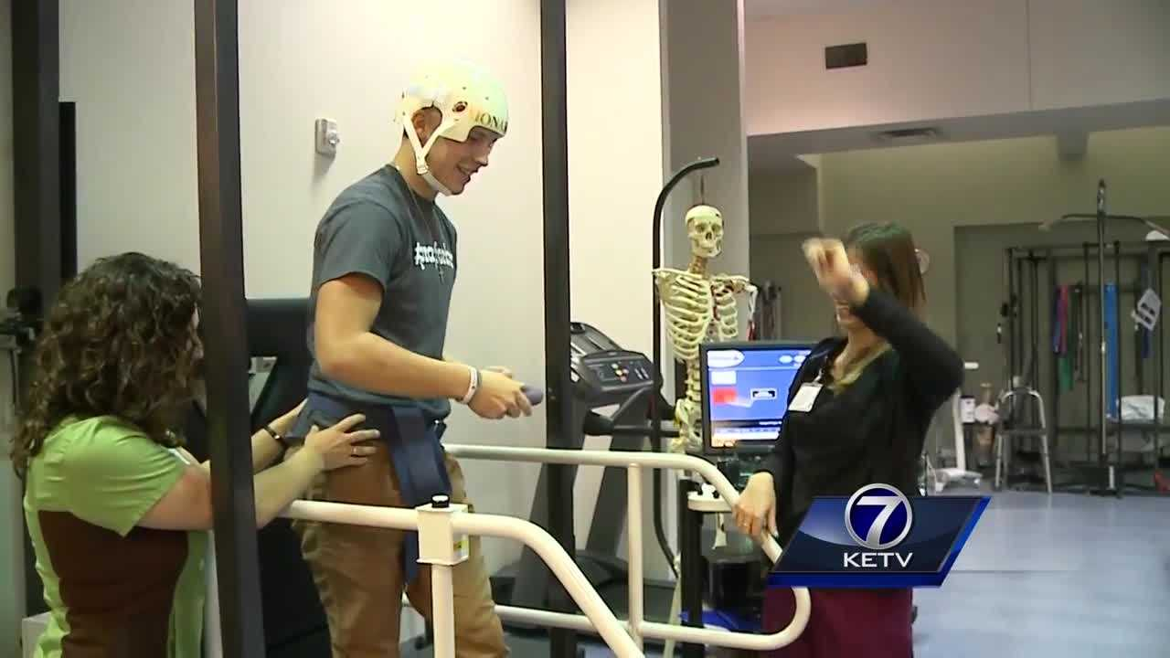 Brandon Steburg's recovery continues