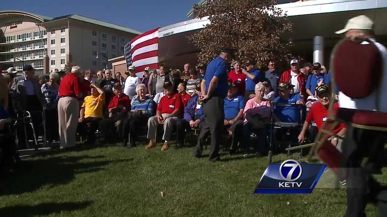 As veterans make their presence known at the La Vista Embassy Suites Sunday, they're reminded of the friendships and memories during their honor flights to Washington DC.