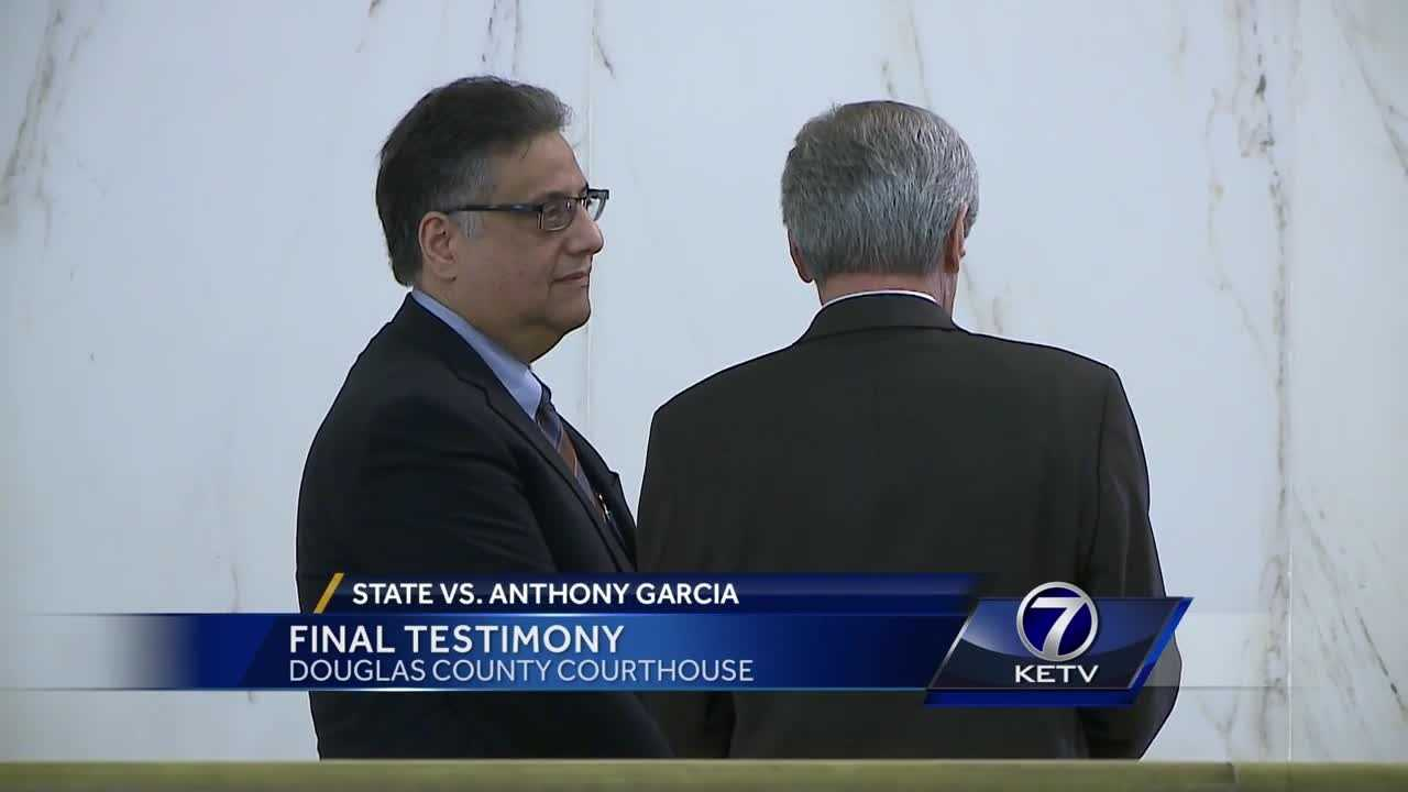 The final witnesses took the stand Monday in the Anthony Garcia murder trial.