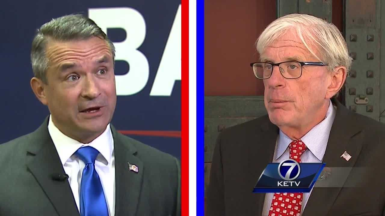 Democrat incumbent Brad Ashford and Republican challenger Don Bacon share their thoughts on national security and America's military.