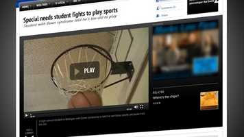 Watch videos on our newly designed media player.