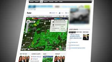 Interactive radar allows you to control the radar image you see. Zoom in on your neighborhood, or to wherever you might travel. See the National Weather Service advisories on the map, track lightning and tropical storms. You can change the map design and even take it full screen! This is the most detailed, high resolution interactive radar product available that updates within minutes and exclusively offers the Futurecast function.