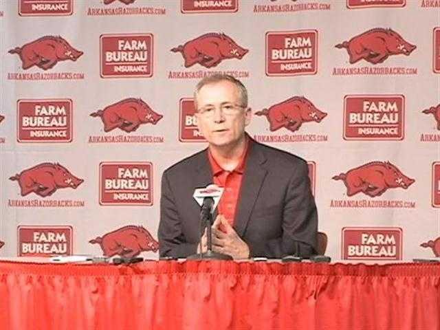 University of Arkansas football coach Bobby Petrino has been put on paid leave.