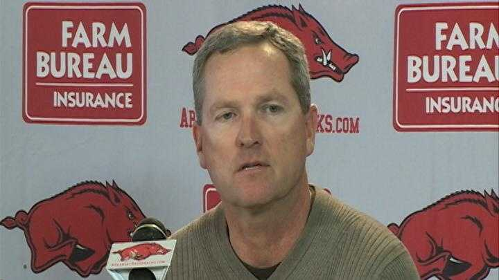 Arkansas baseball coach Dave Van Horn