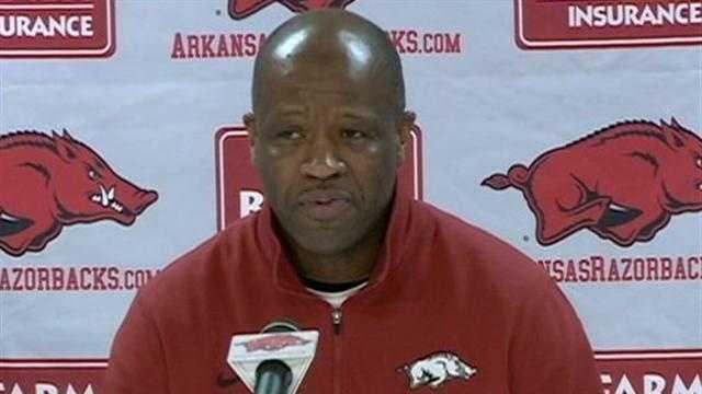 Arkansas men's basketball coach Mike Anderson