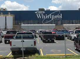 Whirlpool stages an appreciation lunch for its Fort Smith employees on Friday. The plant will close June 29.