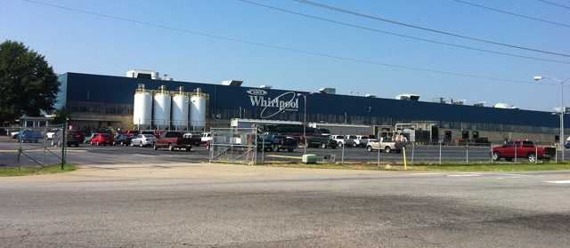 Friday is the final day of work for more than 800 workers at the Fort Smith Whirlpool plant.