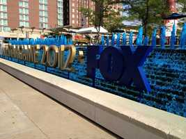 """200: More than 200 fountains reside in Kansas City, establishing its nickname as """"The City of Fountains."""" Five of these fountains will be colored All-Star blue from July 6-10: J.C. Nichols Memorial Fountain(NE corner of 47th and J. C. Nichols Parkway), Ilus Davis Civic Mall Fountain(1100 Oak), Diana(401 Ward Parkway at Wornall Road), BarneyAllis PlazaFountain(205 W. 12th Street), CrownCenterEntrance Fountains(2450 Grand)"""