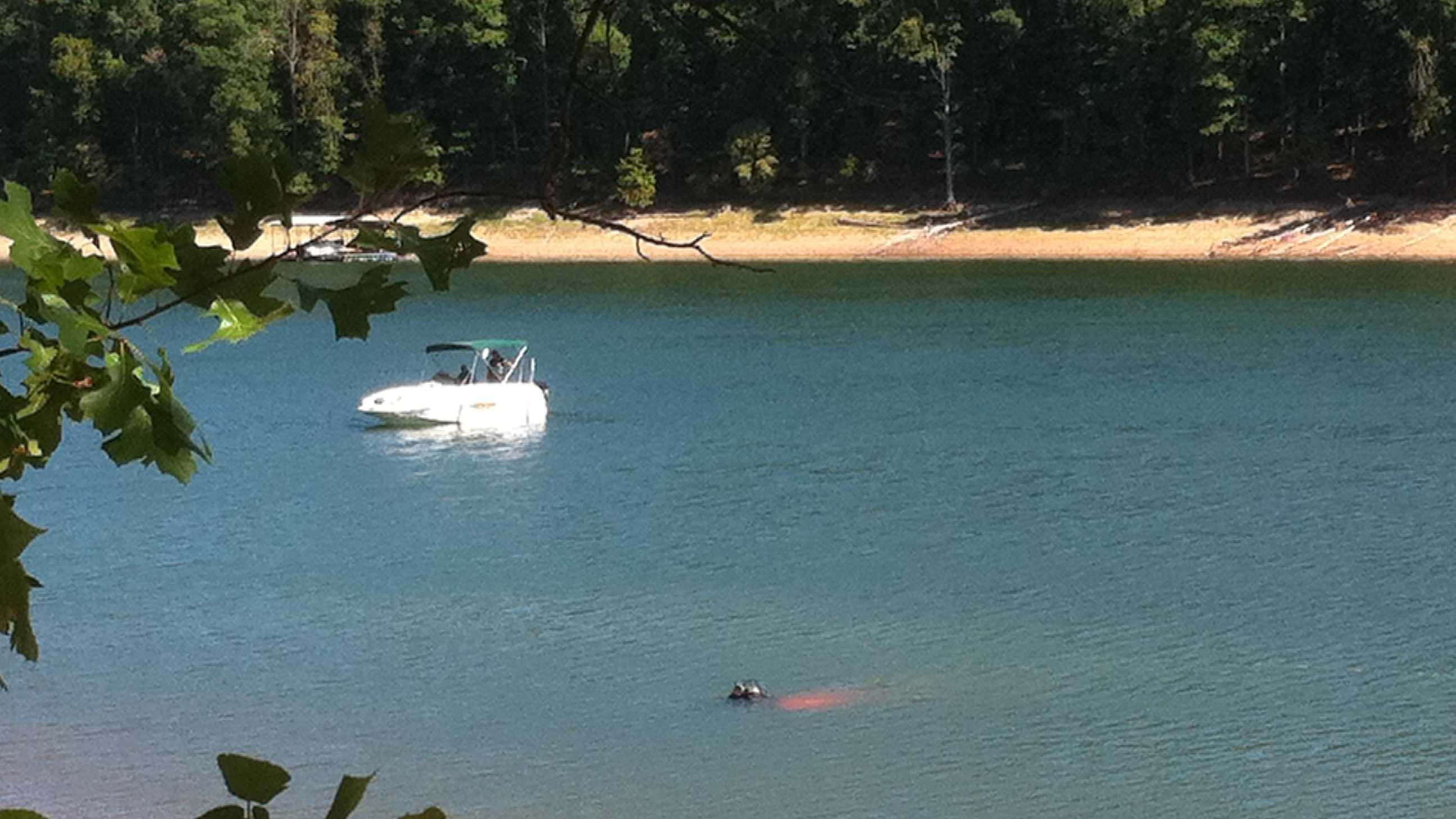 Dive team searching Beaver Lake for possible drowning victim